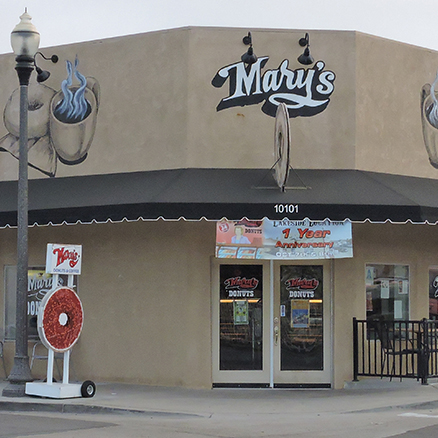 Mary's Donuts, sandwiches, Lakeside, CA